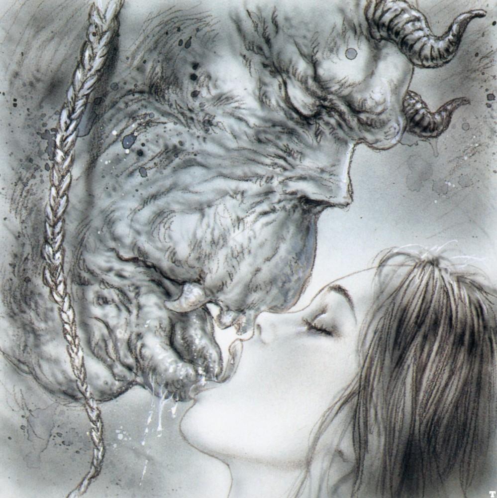 Рисованный секс девушки и чудовища 20 фотография